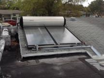 Plumbing Solar Panel